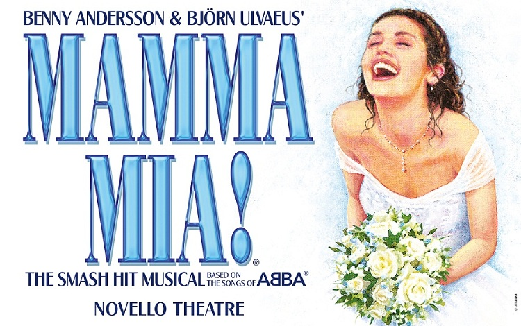 Mamma Mia at the Novello Theatre