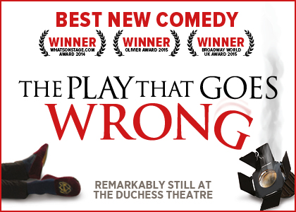 The Play That Goes Wrong at the Duchess Theatre