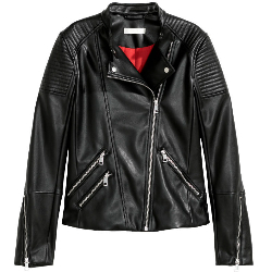 Bat Out of Hell - leather jacket