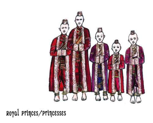 King and I - princes and princesses
