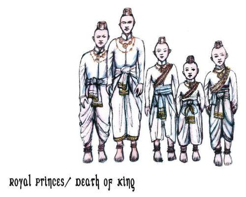 King and I - royal princes