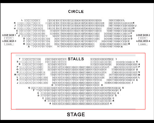 The Book of Mormon seats