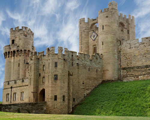 Warwick Castle Attractions Buildings