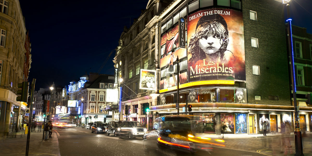 A to Z West End theatre